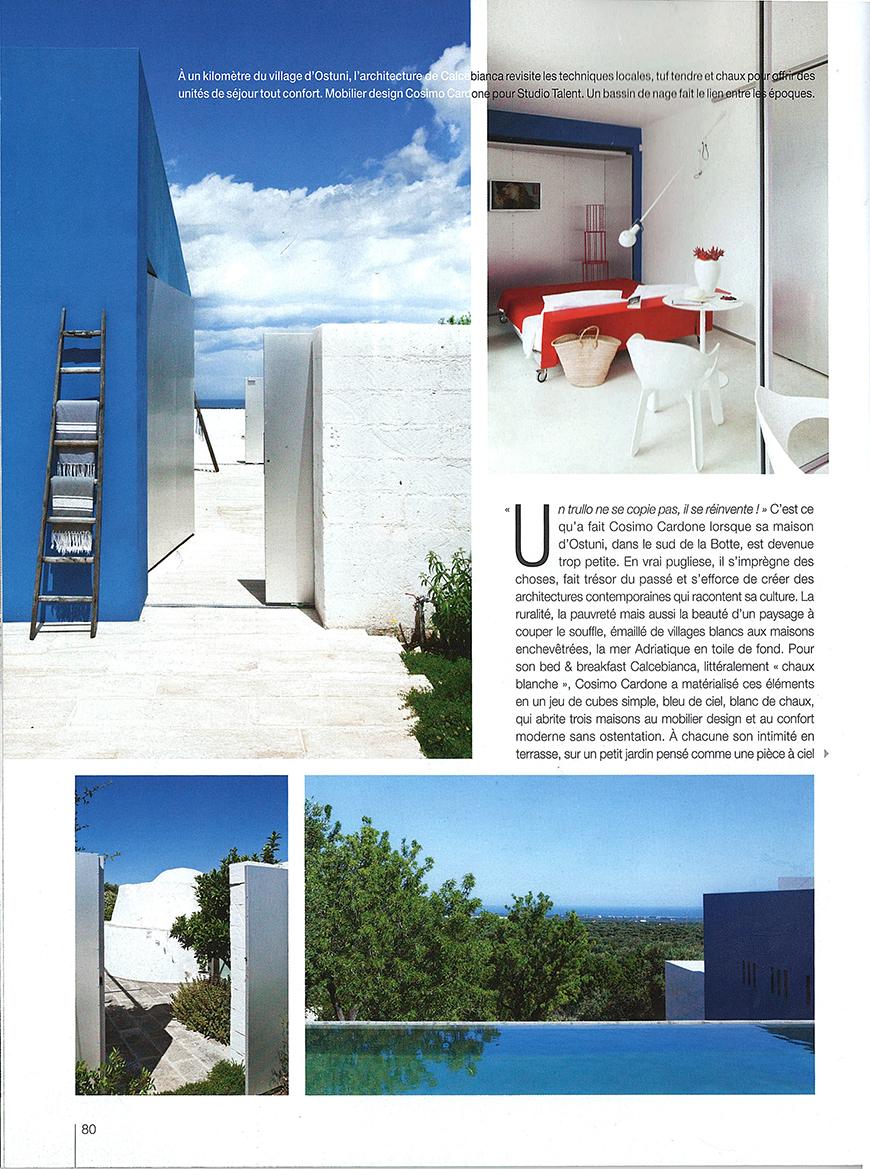 MAISON COTE' DU SUD - Ruralitè au perspective, pp. 78-82, luglio 2014