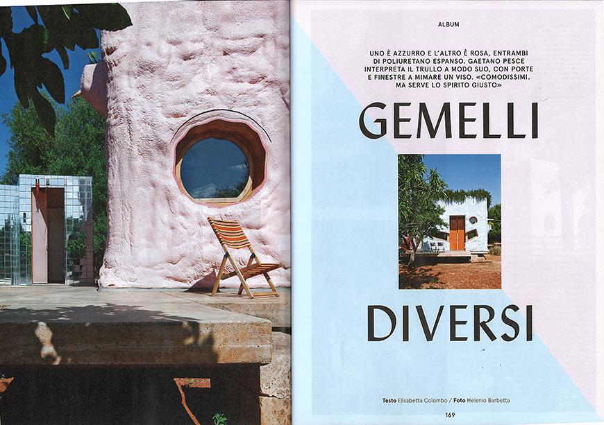 LIVING - Gemelli diversi, pp. 168-175, giugno 2014