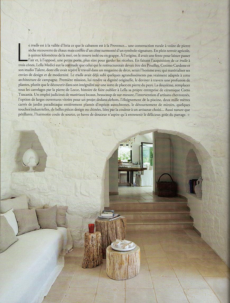 MAISON COTE' DU SUD - Design rural, pp. 120-129, settembre 2013