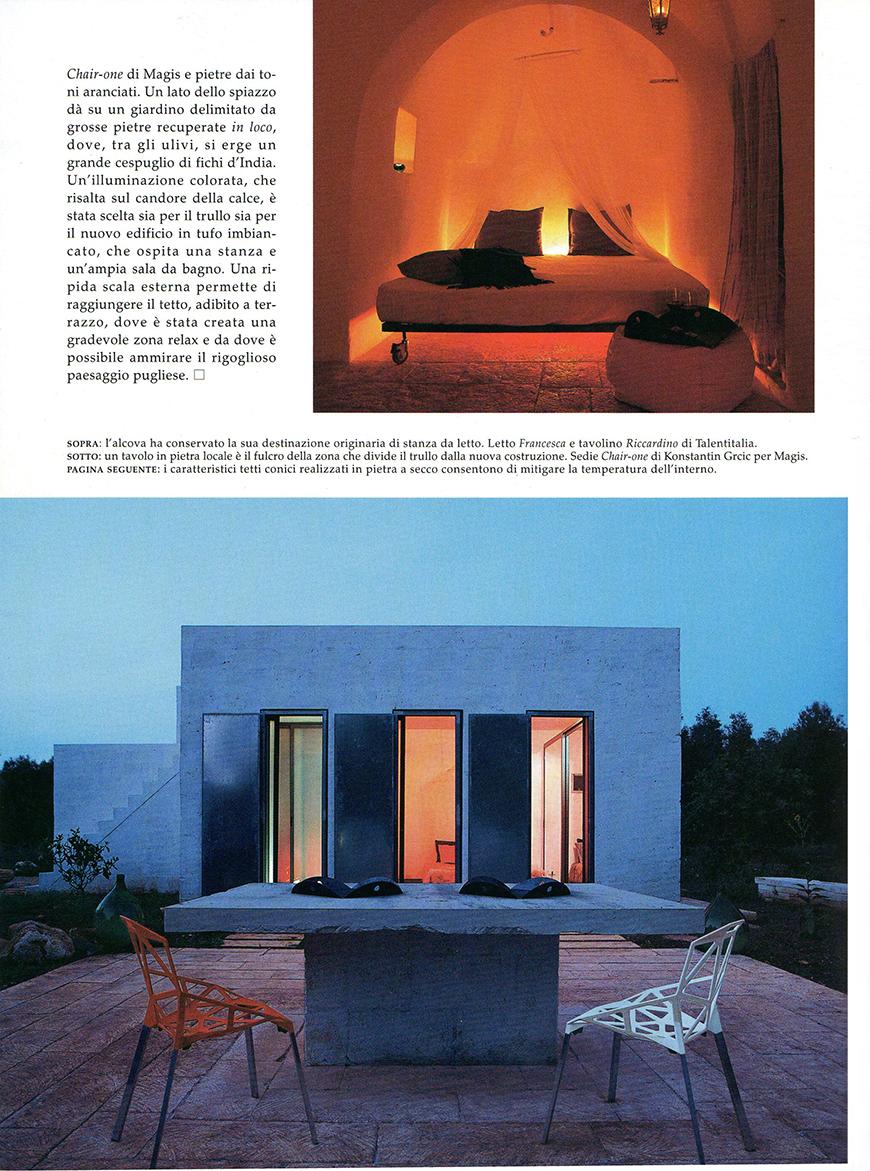 AD - Architectural Digest. Le più belle case del mondo: Numero di Natale, n° 307, dicembre 2006, Nella terra degli ulivi, pp. 232-239