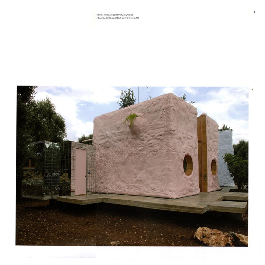 PROGETTI, architettura, restauro, design, n° 23, Pescetrullo tra gli ulivi, pp. 6-15; 2009