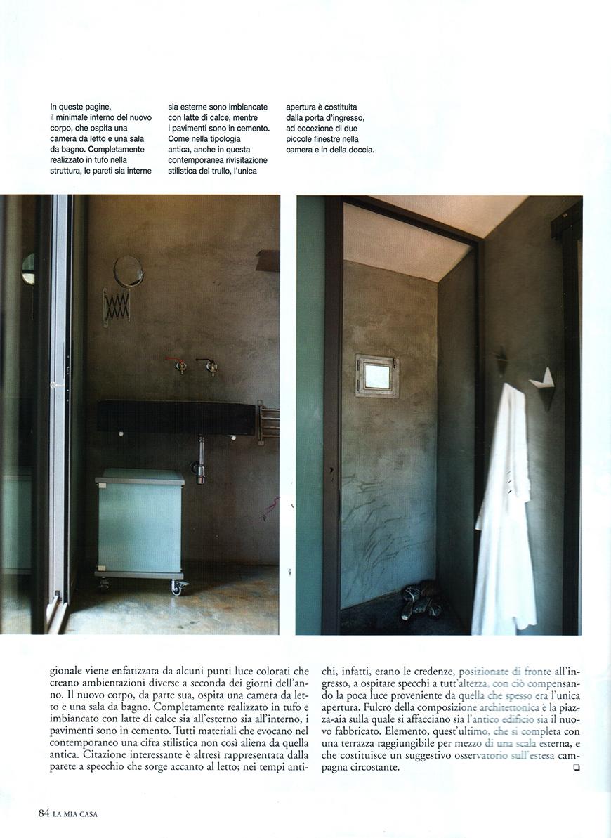 LA MIA CASA n°409, luglio/agosto 2008, Presente scenico, pp.78-85