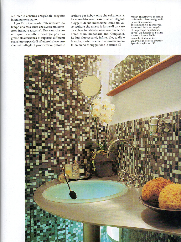 AD - Architectural Digest. Le più belle case del mondo: Stile a contrasto,,, n° 296, gennaio 2006, Le luci della penombra, pp. 126-133