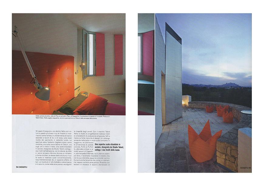 CASE & STILI. In & out ibridi d'arredo, luglio/agosto 2010, Ossimoro, un antico contemporaneo, pp. 47-56