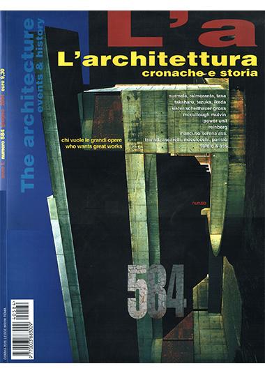 """L'ARCHITETTURA - cronache e storia"""", n° 584, giugno 2004, Una residenza tra gli ulivi: Ostuni, pp. 475-479"""