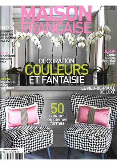 MAISON FRANCAISE, settembre 2009, Rose pour elle, blue pour lui, pp. 136-143