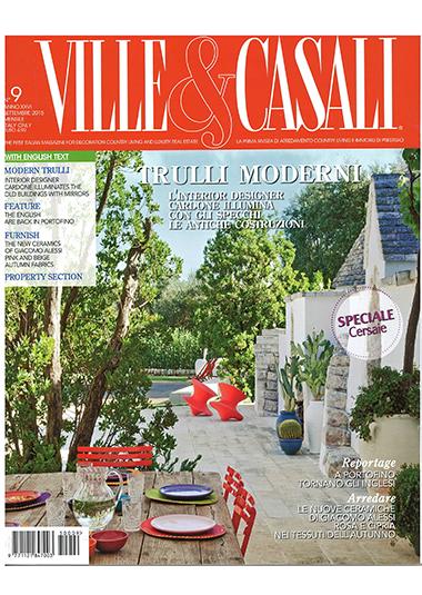 VILLE & CASALI - Trulli luminosi, pp. 80-89, settembre 2015