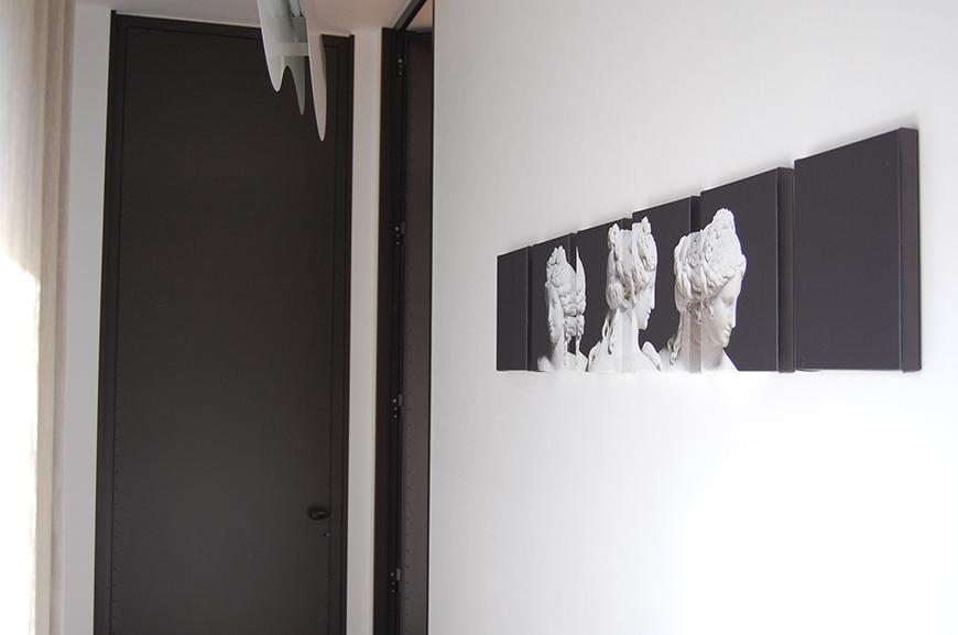 Studio Talent: Si tratta della sopraelevazione del piano nobile di un edificio dei primi del novecento che ha consentito libertà distributiva e la possibilità di ampie aperture verso il paesaggio circostante.